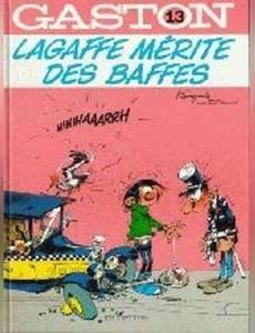 Couverture de l'album Lagaffe Mérite des Baffes