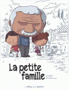 Couverture du premier album de la série La Petite Famille
