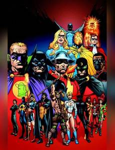 Couverture de l'album Justice Society of America: The Bad Seed