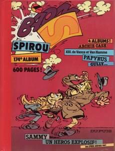 Couverture du premier album de la série Le Journal de Spirou