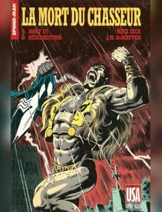 Couverture du premier album de la série Collection Super Héros (Comics USA)