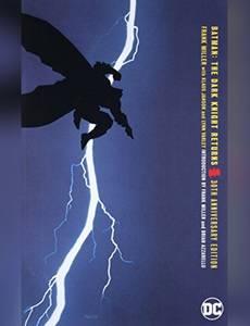 Couverture du premier album de la série Batman - The Dark Knight Returns