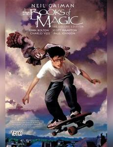 Couverture du premier album de la série The Books of Magic