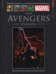 Couverture de l'album New Avengers - Evasion
