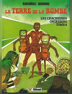 Couverture du premier album de la série Les cracheuses oniriques