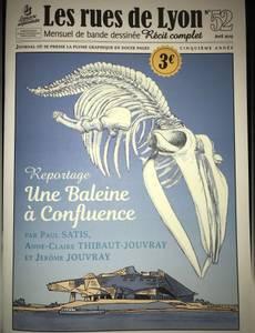 Couverture de l'album Une baleine à confluence