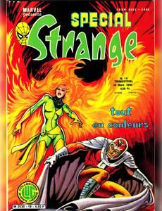 Couverture du premier album de la série Special Strange