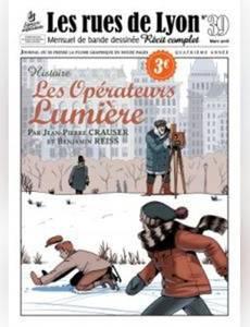 Couverture de l'album Les Opérateurs Lumière