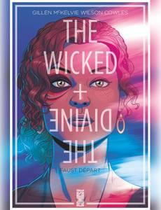 Couverture du premier album de la série The Wicked + The Divine