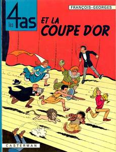 Couverture de l'album Les 4as et la Coupe d'or
