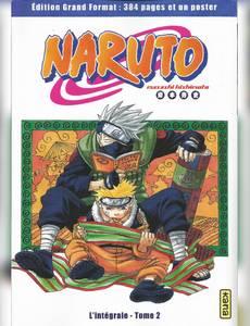 Couverture du premier album de la série Naruto ( Hachette Collections 2020 )