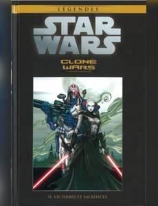 Couverture de l'album Clone Wars - Ii. Victoires et Sacrifices