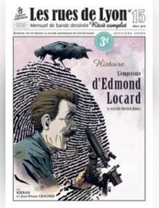 Couverture de l'album L'empreinte d'Edmond Locard