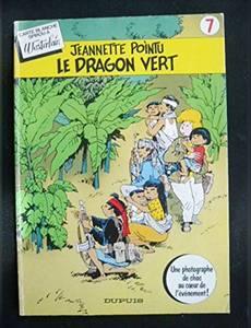 Couverture de l'album Jeannette Pointu , Le dragon vert