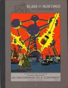 Couverture de l'album Les Sarcophages du 6eme continent T1