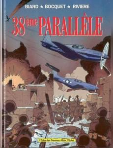 Couverture du premier album de la série 38ème Parallèle