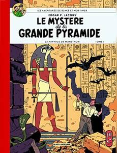 Couverture de l'album Le Mystère de la Grande Pyramide - Le Papyrus de Manethon