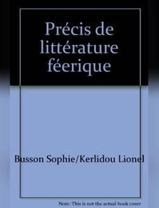 Couverture de l'album Précis de littérature féerique