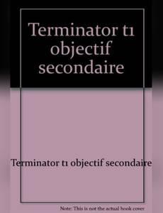 Couverture du premier album de la série Terminator (Robinson)