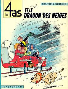 Couverture de l'album Les 4as et le Dragon des Neiges