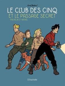 Couverture de l'album Le Club des Cinq et le passage secret