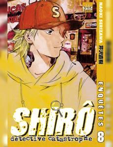 Couverture de l'album Shiro, le détective catastrophe