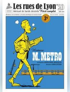 Couverture de l'album M. Métro