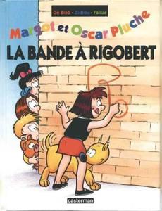 Couverture du premier album de la série Margot et Oscar Pluche