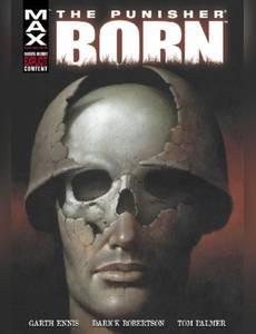 Couverture du premier album de la série The Punisher