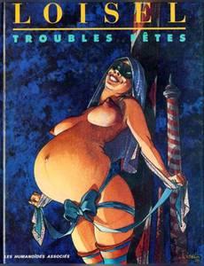Couverture du premier album de la série Troubles Fêtes