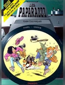 Couverture du premier album de la série Les Paparazzi