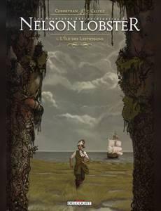 Couverture du premier album de la série Les Aventures Extraordinaires de Nelson Lobster