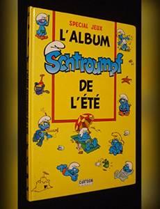 Couverture de l'album L'Album Schtroumpf de l'été