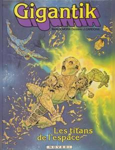 Couverture de l'album Les Titans de l'espace