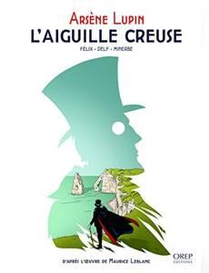Couverture du premier album de la série Arsène Lupin