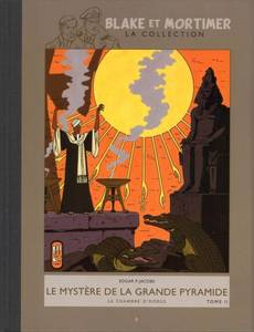Couverture de l'album Le Mystère de la Grande Pyramide T2