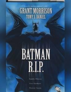 Couverture de l'album Batman R.I.P.