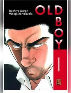 Couverture du premier album de la série Old Boy