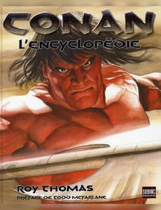 Couverture du premier album de la série Conan le Barbare hors série