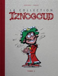 Couverture du premier album de la série Iznogoud-La Collection