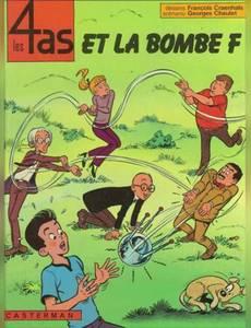 Couverture de l'album Les 4as et la Bombe F