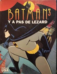 Couverture du premier album de la série Batman (Comics USA & Graphic US)