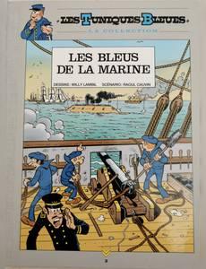 """Couverture du premier album de la série Les tuniques bleues """" la collection"""""""