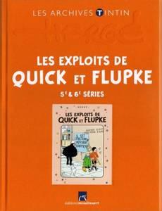 Couverture de l'album Les Exploits de Quick et Flupke - 5e & 6e séries