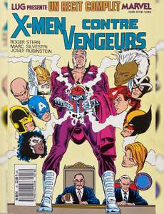 Couverture de l'album X-men contre vengeurs
