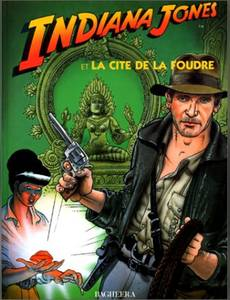 Couverture de l'album Indiana Jones et la cité de la foudre