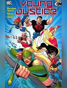 Couverture du premier album de la série Young Justice (2011)