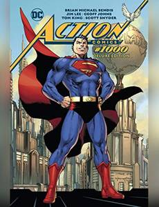 Couverture du premier album de la série Superman Action Comics