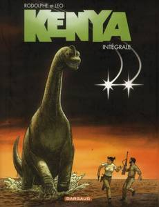 Couverture du premier album de la série Kenya intégrale Magnum