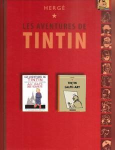 Couverture de l'album Tintin au pays des soviets / Tintin et l'alph-art